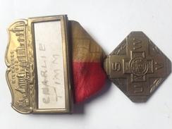 Medalla Guerra De Cuba. 1898-99. España – Estados Unidos. 1932. Milwaukee. Veterano Charlie Timm - Estados Unidos
