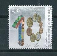 2012 Luxemburg 0,85 Euro Geld,money Used/gebruikt/oblitere - Gebruikt