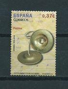 2013 Spain Music,platillos Used/gebruikt/oblitere - 1931-Aujourd'hui: II. République - ....Juan Carlos I