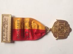 Medalla Guerra De Cuba. 1898-99. España – Estados Unidos. 1934. Jackson. Comandante Veterano C. H. Mirriam - Estados Unidos