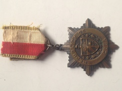 Medalla 30 Aniversario Guerra De Cuba. 1898-1902. España – Estados Unidos. 1928. La Habana. Veterano - Estados Unidos