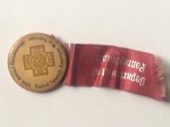 Medalla 15 Aniversario Guerra De Cuba. 1898-1902. España – Estados Unidos. 1917. Pennsylvania. Veterano - Estados Unidos