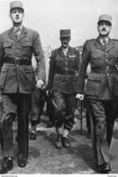 Militaria WW2 - Le Général De Gaulle Avec Les Généraux Leclerc Et Koenig - 1939-45