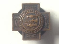 Medalla Miniatura Solapa Guerra De Cuba. 1898-1902. España – Estados Unidos. Veterano - Estados Unidos