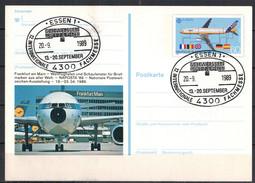 BRD, SSt Essen - 12. Int. Fachmesse Schweissen Und Schneiden 20.09.1989 - [7] Federal Republic