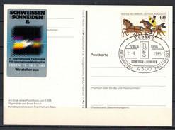 BRD, TSt Essen - Int. Fachmesse Schweissen Und Schneiden 11.09.1985 - [7] Federal Republic