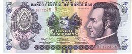 Honduras P.98 5 Lempiras 2014 Unc - Honduras