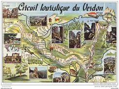 Circuit Touristique Du VERDON - Landkaarten