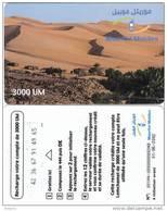 MAURITANIA - Mauritel Prepaid Card 3000 UM(glossy Surface), Exp.date 01/06/02, Used - Mauritania