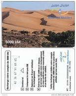 MAURITANIA - Desert, Mauritel Prepaid Card 3000 UM(glossy Surface), Exp.date 01/06/02, Used - Mauritania