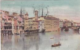 Firenze - Veduta Dell'Arno - Ponte Di S. Trinita * 4. X. 1933 - Firenze