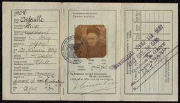 STAD YPER - IEPER --- PASSEPORT ARFEUILLE MARIE - 1859/1929 - Documents Historiques
