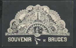+++ CPA - BRUGGE - Souvenir De BRUGES - Carte Fantaisie - Multivues - Dentelle   // - Brugge