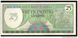 "25 Gulden    ""SURINAM ""   1er Novembre 1985    UNC     Bc.47 - Surinam"