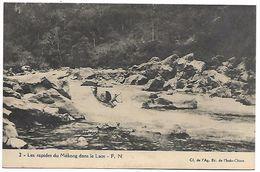 LAOS - Les Rapides Du Mékong Dans Le Laos - Laos