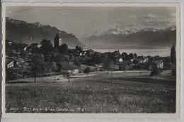 St. Legier & Les Dents Du Midi - Photo: R. E. Chapallaz - VD Vaud
