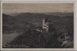Kulm-Hotel Mte. Bre - Blick Gegen Lugano  Und Mte. Rosa - Photo: J. Gaberell No. 6230 - TI Tessin