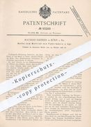 Original Patent - Mathias Saedler In Köln / Rhein , 1896 , Fahrradkette | Fahrrad - Kette | Kettenrad , Fahrräder !! - Historical Documents