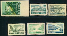 1950/1957, Useful Lot On Three Stockcards. - Korea (Noord)