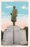 Minnesota Rochester William Worrell Statue In Public Park Curtei