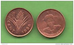 SWAZILAND - 1 CENTS 1986  KM39 - Swazilandia