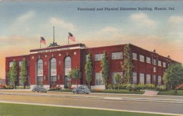 Indiana Muncie Vocational and Physical Education Building Curtei