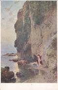 AK Künstlerkarte Nackte Frauen Am Meer - Druckknopf Koh-i-Noor - 1916 (30040) - Guerre 1914-18
