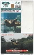 JORDAN - Nature In Jordan, Sea Turtle, Bird, 08/02, Sample(no CN) - Tartarughe
