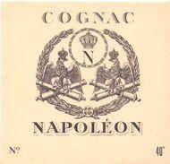 Etiket étiquette Cognac Napoleon - Autres