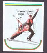 Cambodia, Scott #953, Mint Hinged, Olympics, Issued 1989 - Cambodge