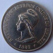 Brazil - 500 Reis - 1889 - KM 494 - Brasilien