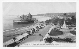 DC 849 - NICE - Le Palais De La Jetee Et La Promenade Des Anglais - LL 36 - Niza
