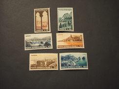 ITALIA REPUBBLICA - 1953 TURISTICA 6 VALORI  - NUOVO(++) - 1946-60: Mint/hinged