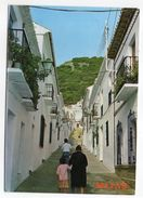 Espagne--MIJAS--Rue Typique (animée)  --timbre- Cachet - Espagne
