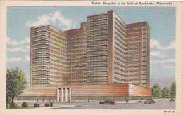 Minnesota Rochester Kahler Hospital Curteich