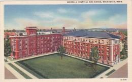 Minnesota Rochester Worrell Hospital and Annex Curteich