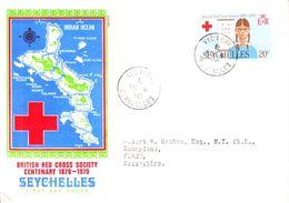 Seychelles Envelope 04 Aug 1970 - Seychelles (1976-...)