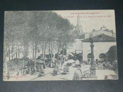 SAINT GIRONS    1907   /  LA FOIRE SUR   LE CHAMP DE MARS  /   CIRC  EDIT - Saint Girons