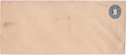 1903-EP-50 CUBA (LG-1219) 5c COLON POSTAL STATIONERY LONG COVER UNUSED. - Cuba