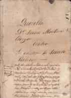 E4848 CUBA ESPAÑA SPAIN. 1871. PROCESO JUDICIAL POR INJURIAS PERIODICO SATIRICO JUAN PALOMO NEWSPAPER. - Historical Documents