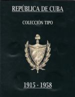 BK-SET-160 CUBA 1915-1958 COMPLETE TYPES COINS SILVER + CU-NI. TODAS LAS MONEDAS TIPO DE PLATA. - Cuba