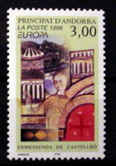 ANDORRA (FRENCH) # 468.   3.00fr, Europa.  MNH (**) - French Andorra