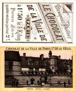 Chocolat De La Ville De Paris, Hôtel Cluny - Other