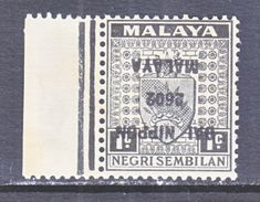JAPANESE  OCCUPATION  NEGRI  SEMBILAN  N 17a  **  INVERTED  OVPT. - Great Britain (former Colonies & Protectorates)