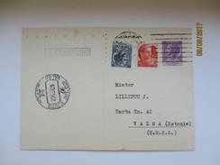 ITALY 1962   , MILANO TO USSR RUSSIA ESTONIA  ,   POSTAL STATIONERY  ,00 - Interi Postali