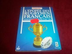 L'EPOPEE DES RUGBYMEN FRANCAIS   1987 / 2003   DOUBLE DVD - Sports