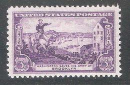 US 1951,American Revolution,G.Washington Battle Of Brooklyn,Sc 998,VF MNH** - United States
