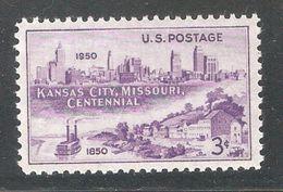 US 1950,Kansas City Centenary Issue,Sc 994,VF MNH** - United States