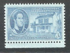 US 1950,Indiana Territory Issue,Sc 996,VF MNH** - United States