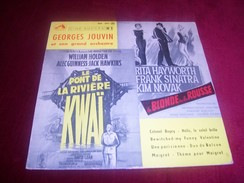 GEORGES JOUVIN  ° CINE SUCCES No1 LE PONT DE LA RIVIERE KWAI + LA BLONDE OU LA ROUSSE + MAIGRET + UNE PARISIENNE - Soundtracks, Film Music